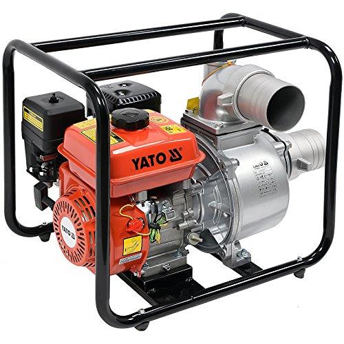 Benzin Wasserpumpe 4' 7,7Hp 96M3/H