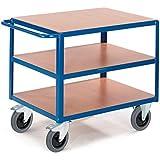 Rollcart Tischwagen 3 Ladefläche, 06-7538