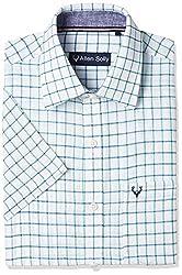 Allen Solly Mens Formal Shirt (8907308833618_AMSH1G01718_White_40)
