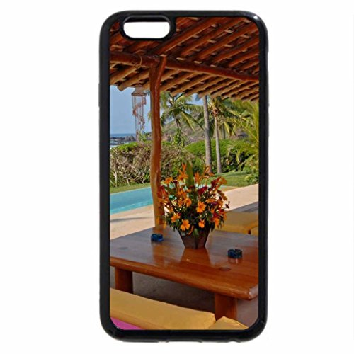 iPhone 6S / iPhone 6 Case (Black) Pool side