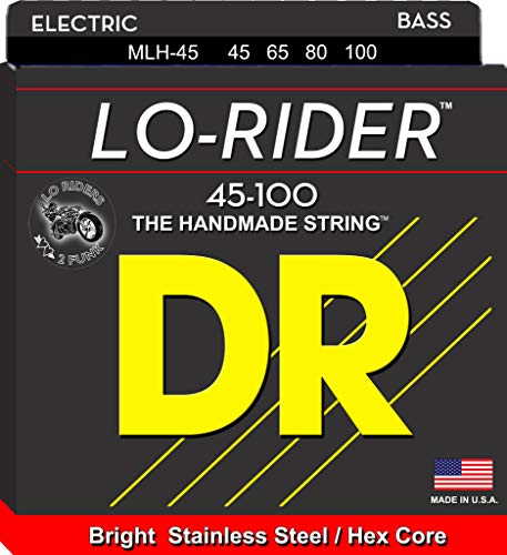 DR String MLH-45 Low Rider Set di corde per basso