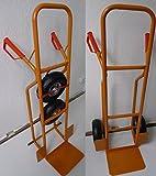 Profi Sackkarre Transportkarre Stapelkarre 250kg belastbar Orange