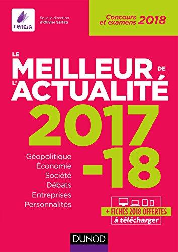 Le meilleur de l'actualité 2017-2018 : Concours et examens 2018 (Annuels)