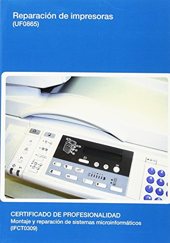 Reparación de impresoras (UF0865) por Francisco J. Pardo Muñoz