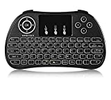 Dreamy Mini Wireless Tastatur Maus Combo 2,4GHz Fernbedienung Touchpad für PC, Pad, Android Google TV-Box TV Dongle