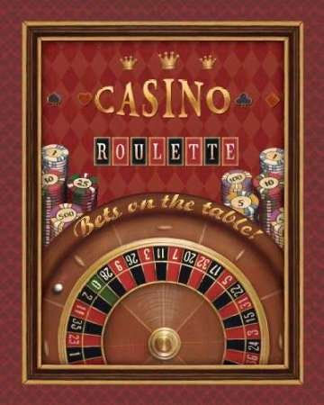 Roulette par Brissonnet, Daphné – Fine Art Print Disponible sur papier et toile, Toile, SMALL (18.5 x 23.5 Inches )
