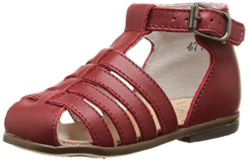 Little Mary Jules, Chaussures Premiers Pas Mixte Bébé, Rouge (Vachette Cherry), 19 EU
