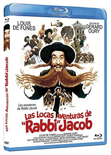 Las Locas Aventuras de Rabbi Jacob BD 1973 Les aventures de Rabbi Jacob [Blu-ray]