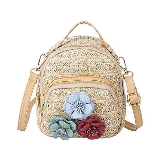 Mitlfuny handbemalte Ledertasche, Schultertasche, Geschenk, Handgefertigte Tasche,Frauen-wilde Blumen-KirschCrossbody Art- und (Marilyn Monroe Hund Kostüme)