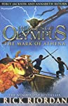 The Mark Of Athena (Heroes Of Olympus Book 3) is part of Rick Riordan's The Heroes Of Olympus series. Taking off from where Son Of Neptune left off, the book tells the story of Greek and Roman demigods, in an alternating set of narratives.The book be...
