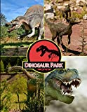 Dinosaur Park: Blank Comic Pages for Creating Your Own Jurassic World