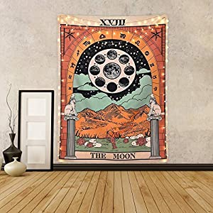 Tarot Tapestry The Moon Tarot