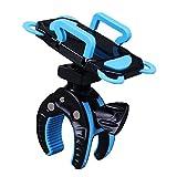 AIU Fahrrad Handyhalterung Universal Motorrad/Fahrrad / MTB Fahrrad Lenker Handyhalter für die Meisten Smartphones und GPS (Blau)