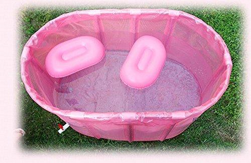 Doppelte, nicht aufblasbare, klappbare, Bad, Falten, Badewanne, Wanne, Wanne,