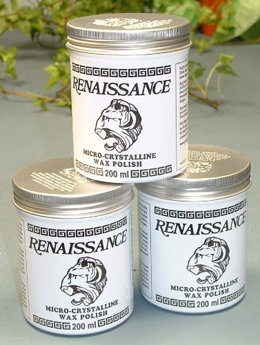 Renaissance Mikrokristallines Wachs Dosen Politur 3 x 200 ml)