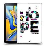 Head Case Designs Hoffnung Aztechische Worte Aus Der Bibel Ruckseite Hülle für Samsung Galaxy Tab A 10.5 (2018)