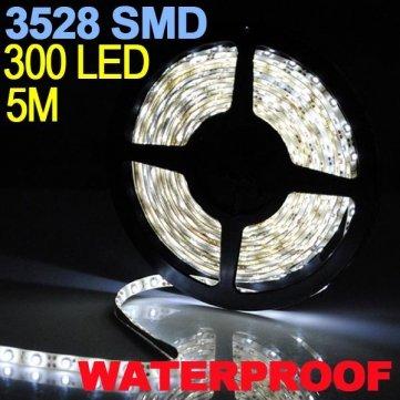 Preisvergleich Produktbild Pure weiß 5 m 300 LED 3528 SMD LED STRIP-Light flexibel