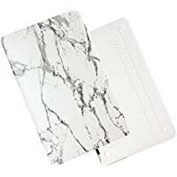 Macbook Air 13inch Case,MAETEK Marble Coating Ultra-thin Pro-skin Premium PC Hard Protective Cover Case for Macbook Air 13inch(A1369/A1466)-greywhite
