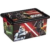 ColorBaby - Caja ordenación 13 litros, diseño star wars (76730)