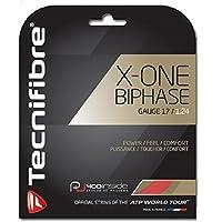 TECNIFIBRE X-ONE Biphase Tennissaitenset, Rot, 1.24mm