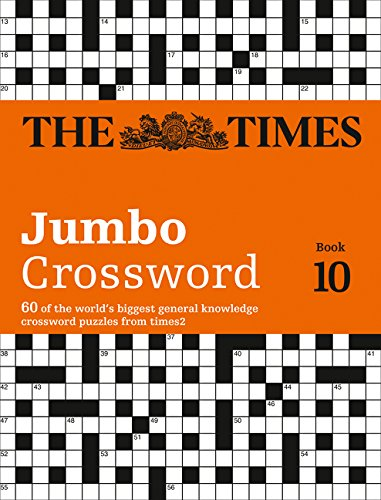 The Times 2 Jumbo Crossword Book 10 (Times Mind Games) por The Times Mind Games