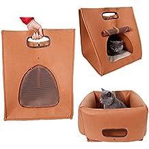 Orchidtent 3 Shapes Pet Nest Bed Carrier plegable y portátil casa para gatos y perros