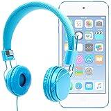 DURAGADGET Auriculares De Diadema Color Azul Para Apple iPod Touch ( 6 / 5 / 4 / 3 / 2 / 1 Generación ) - Alta Calidad - ¡Perfectos Para Combinar Con Su Móvil!