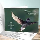 Einladungskarten Beerdigung