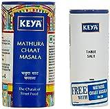 #1: Keya Mathura Chaat Masala, 80g with Free Table Salt, 100g