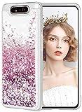wlooo Cover per Samsung Galaxy A80, Cover Samsung Galaxy A90, Glitter Bling Liquido Sparkly...