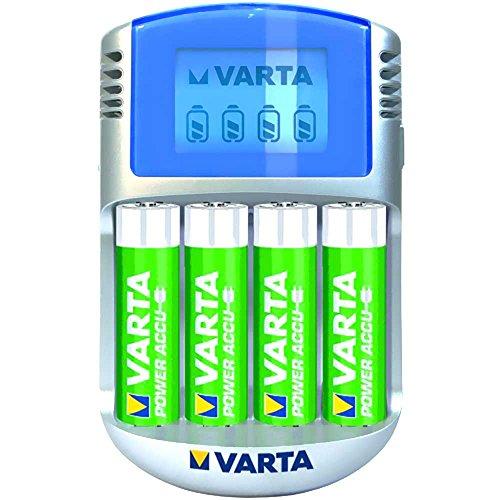 Preisvergleich Produktbild Varta Akku Ladeger Power Lcd 4aa 12v Usb Adap 57070 201 441 4008496640324