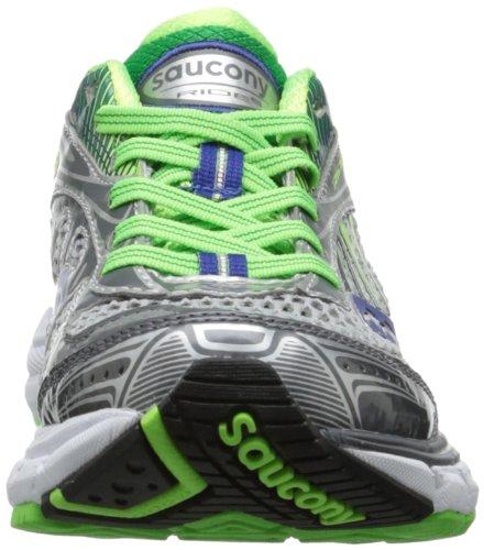 Saucony Damen Laufschuhe silberfarben/grün