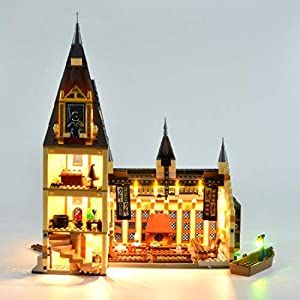 K9CK Kit Luci per Lego Harry Potter La Sala Grande di Hogwarts 75954, Kit di Illuminazione a LED Compatibile con Modello… 6257297073635 LEGO