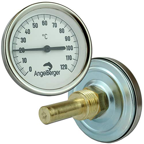 Angel-Berger Profi Räucherthermometer Thermometer für Räucherofen