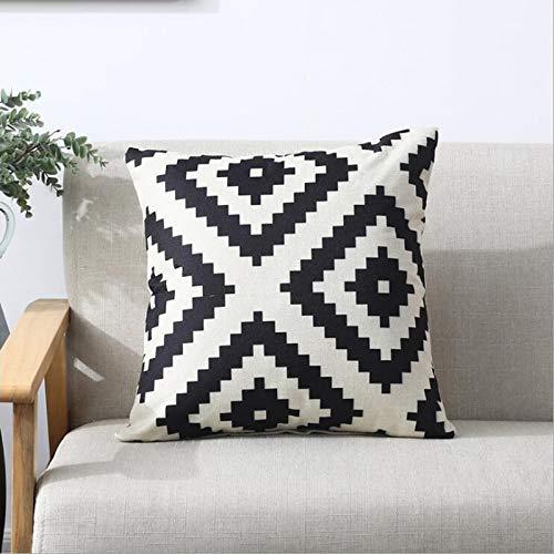 Stardrem federe cuscino natalizio decorativo federa per cuscino rivestito in ecopelle divano per auto federa per cuscino morbido, 400mm * 400mm, 10