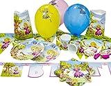 Heku 30006-37 Einweg-Party-Set Princess Merlinda für 10 Kinder, 85-teilig