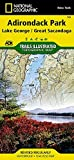Front cover for the book Trails Illustrated Map: Lake George / Great Sacandaga Lake by National Geographic Maps