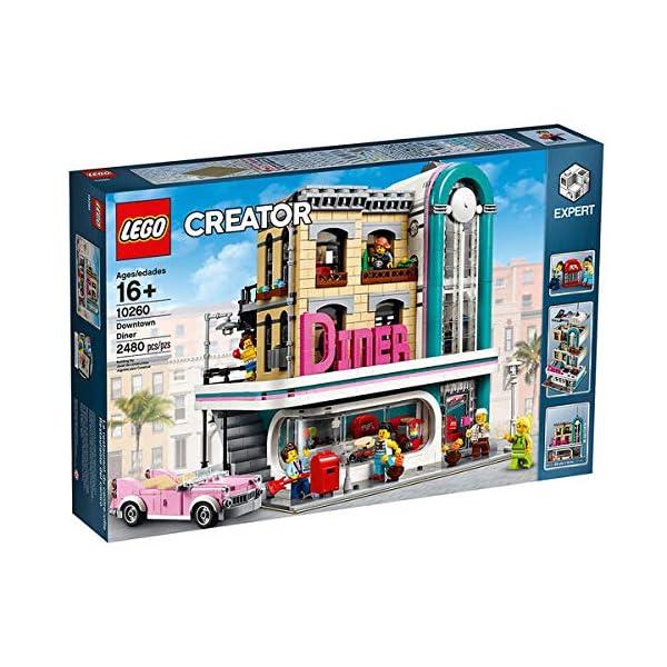 LEGO Creator 10260 American Diner, Colore None 1 spesavip