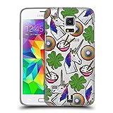 Head Case Designs Einhorn Patch Styles Ruckseite Hülle für Samsung Galaxy S5 Mini