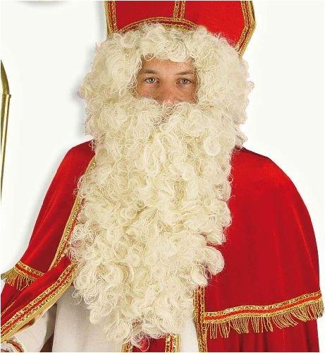 Perücke Weihnachtsmann mit Bart Santa-Claus Set (Santa Bart Und Perücke Set)