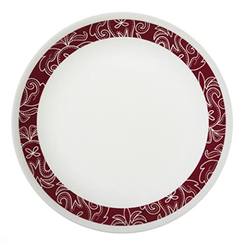 Corelle Bandhani Lunch Plate - 6 piece set by Corelle