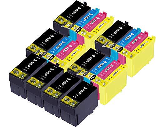 20 Dougalas Inks Cartucce d'inchiostro compatibili con Epson 27XL Epson 27 Epson WF-7210 DTW Epson WF-7710 DWF Epson WF-3620DWF Epson WF-3620 Epson WF-7620 Epson WF-7610DWF Epson WF-7720 DTWF