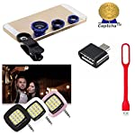 BEST Quality Assurance: Certified Mobile Care Kit that can Fulfill almost any mobile Purpose. 100% Comaptible Assurance with 180 Days Doorsteps Replacement Warranty on each product unit. One of the must-haves for a photographer is an ideal camera len...