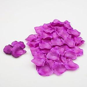 Pétalos de rosa de seda de Richland 1000unidades