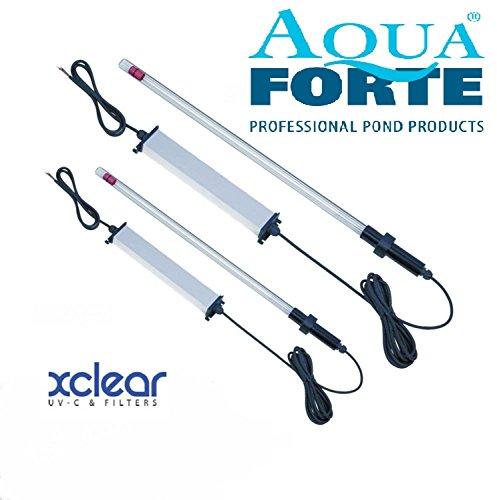 X-Clear AmalgamTauch UVC Lampe als Bausatz 40 und 80 Watt, Auswahl Tauch UVC:Tankdurchführung 11/2