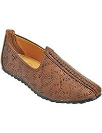 Kolapuri Centre Brown Color Casual Slip On Sandal For Men's - B075WVPBXB