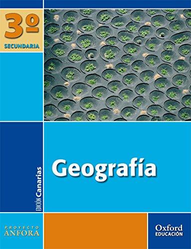 Geografía 3º ESO Ánfora (Canarias). Pack (Libro del Alumno + Mapas) - 9788467331516