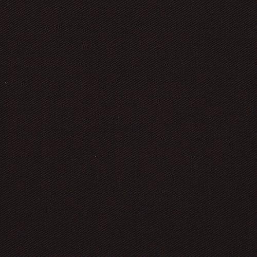 MIRABLAU DESIGN Stoffverkauf Wolle Viskose Twill in dunkelblau braun (1-106M), 0,5m - Braun Twill-hose