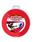 Zuru Mayka Toy Block Tape, 2 metre(Assorted)