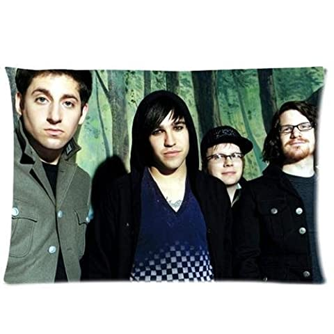 Generic Personalized Chicago Rock Band Fall Out Boy Handwriting Group Show Sold By Too Amazing Pillow case/Taies d'oreillers Roomy Zippered Pillowcase/Taies d'oreillers 30x20 inches (One Side)